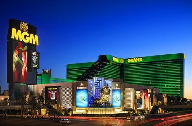 MGM Grand Hotel - vue